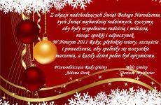 Więcej o: Życzenia świąteczne