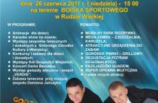 """Więcej o: II Piknik Rodzinny """"ŻYJMY RAZEM"""" w Rudzie Wielkiej"""
