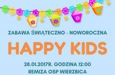 """Więcej o: """"Happy Kids"""". Zabawa świąteczno-noworoczna w Wierzbicy"""