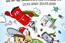 Więcej o: Ogólnopolski konkurs ekologiczny – Mistrz Recyklingu Maks porządkuje odpady
