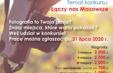 Plakat Łączy Nas Mazowsze