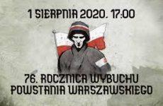 Więcej o: Syreny alarmowe upamiętnią 76 rocznicę wybuchu Powstania Warszawskiego na terenie Gminy Wierzbica