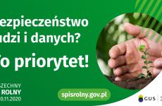 Więcej o: Spis rolny – bezpieczeństwo ludzi i danych to priorytet!