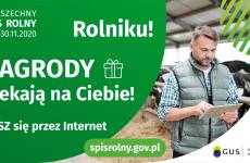 Więcej o: Rolniku, spisz się i daj wygrać sobie, swojej gminie i polskiemu rolnictwu!