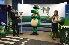Więcej o: Bezpieczna Szkoła Krokodylka Tirka w Zespole Szkolno-Przedszkolnym w Łączanach